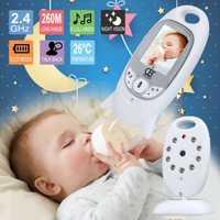 Moniteur bébé couleur vidéo sans fil babyfoon baba sécurité électronique 2 parler Nigh Vision LED surveillance de la température bebek telsizi