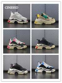 Nouveau décontracté hommes chaussures de qualité supérieure en cuir véritable chaussures Six couches combinaison semelle extérieure femmes baskets flambant neuf chaussures confortables