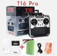 Cavalier T16 Pro Hall cardan Open Source intégré Module multi-protocole émetteur Radio 2.4G 16CH avec 2S 7.4V 2000MAH batterie