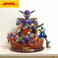 Estatua de 16 pulgadas Mrc Dragon Ball Kenu Fuerzas Especiales busto Frieza Jeice retrato de longitud completa LED Original GK acción figura de juguete 40CM X419