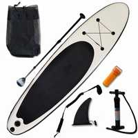 Gonflable Stand Up Paddle Board Sup-Board Surf Board Kayak Surf set 300*75*15 ''avec sac à dos, laisse, palmes, panddle