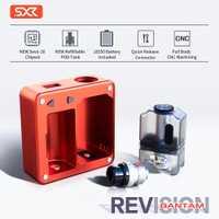 SXK Bantam boîte de révision boîte avec Port USB ajustement 18350 batterie MOD VS SXK Billet BB boîte V4 70W boîte Mod