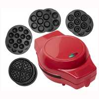 Mini Waffle Maker Multi-opcional eléctrica torta Maker antiadherente extraíble platos Donuts Pan Cupcakes/Waffle/Takoyaki pulpo