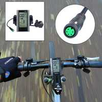 Pantalla de parámetros multifuncional para Bafang C965 Pantalla de bicicleta eléctrica BBS01 BBS02 BBSHD Moto componente