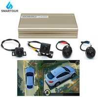 Smartour car 3D 1080P HD 360 degrés système de vue panoramique avec vue panoramique système de caméra avec DVR Quad-core CPU