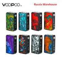 177W VOOPOO arrastrar 2 Caja Mod potencia por batería 18650 cigarrillo electrónico Mod Vape Voopoo Mod Vs Gen Mod /Shogun Univ/Drag 157W