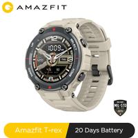 Nouveau 2020 CES Amazfit t-rex T rex Smartwatch AMOLED affichage montre intelligente GPS/GLONASS 20 jours batterie pour Xiaomi iOS Android