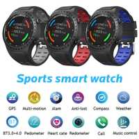 SMA-M1 reloj inteligente GPS llamada Bluetooth podómetro modo Multideportivo reloj deportivo llamada Msg recordatorio pulsera reloj de seguimiento de Fitness