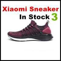2019 Xiaomi Mijia baskets chaussures de sport 3 hommes chaussures de course pop-corn nuage bombe 6 en 1 Uni-moulage 3D système de verrouillage en arête de poisson