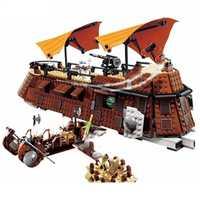 Nouveau Star Wars EWOK Village les StarWars 6210 Jabba voile Barge blocs de construction jouets enfants briques Legoinglys jouet de noël