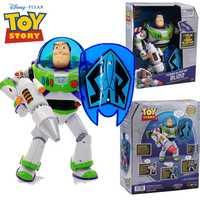 40cm historia de juguete 4 hablar zumbador de energía año de luz juguete PVC figura de acción coleccionable muñeca regalo para niños navidad hablando