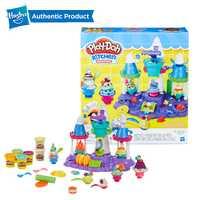 Hasbro play-doh cuisine créations crème glacée château fête jouer Doh Slime fournitures Fun usine argile enfants jouets