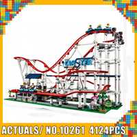 El rodillo de bloques de construcción de ladrillos Coaster Compatible 15039 creador 10261 modelo lEGOED Set juguete educativo regalo de Navidad para chico