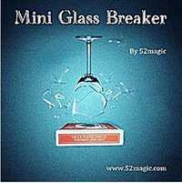 Mini verre disjoncteur tours de magie comédie scène Magia Illusions Gimmick Magia dispositif accessoires verre briser magiciens