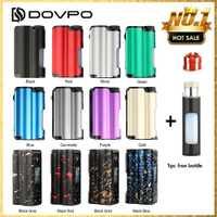 Ecig DOVPO arriba 90W Top llenar TC Squonk MOD con 10ml de gran Squonk botella y OLED de 0,96 pulgadas pantalla del luxótico BF/luxótico DF