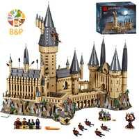 71043 6742 Uds Potter serie de películas Castillo Mágico modelo bloques de construcción juguetes niños regalo de Navidad Compatible con 16060
