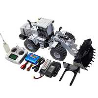 1/14 RC modelo hidráulico Bulldozer cargadora de ruedas vehículo de construcción en miniatura WA470 cargadora de ruedas hidráulica niño cumpleaños regalos