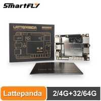Carte lattepanda 4G + 64 go, Intel X86 X64 Z8350 Quad Core 1.8GHz Full Windows10/Linux ArduinoATmega32u4 à bord, apprentissage profond