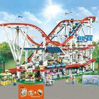 En Stock 15039 legoinglys avec système d'alimentation le créateur de montagnes russes 10261 4619 pièces garçon rêves modèle blocs de construction jouets