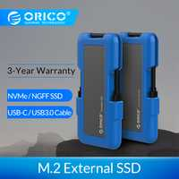 ORICO disque dur SSD externe 1 to SSD 128 go 256 go 512 go M.2 NVME SSD NGFF SSD disque SSD Portable avec Type C USB 3.1