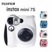 Nuevo original Fujifilm Instax Mini 7C S 7 S Cámara 6 colores en venta blanco rosa azul impresión instantánea película fotográfica instantánea de tiro