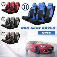 13 piezas de coche cubierta del vehículo Auto cojín Protector con volante de correa de hombro almohadillas