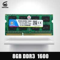 VEINEDA 8 GB DDR3 memoria Ram ddr3 1600 PC3-12800 Sodimm Ram ddr 3 Comptaible 1333 MHz para el ordenador portátil