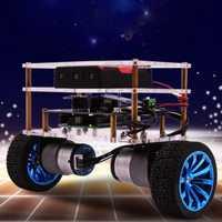 Equilibrio coche Robot Compatible con Arduino electrónica programable de alta tecnología robótica apoyo lenguaje C niños adultos