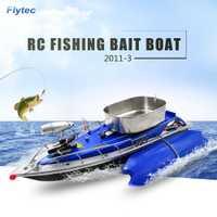 Flytec 2011-3 RC barco inteligente inalámbrico RC Barco de cebo de pesca de Control remoto buscador de peces nave reflector RC juguetes