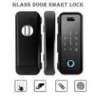 Nuevo Smart cerradura de la puerta de casa sin llave de bloqueo de huella digital + contraseña de Bloqueo Electrónico inalámbrico Aplicación de teléfono de Control Bluetooth