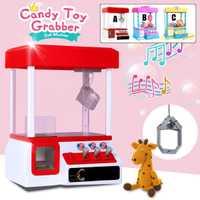 Nuevo carnaval estilo Vending garra Arcade caramelo Grabber Premio máquina de juego de niños juguete