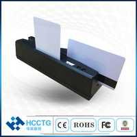 Une puce multifonction MSR & IC et une carte Mifare combo cartes à bande magnétique à lecture bon marché et cartes RFID à lecture HCC110