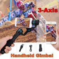 3-eje cardán mano montaje de cámara estabilizador funda bolsa para cámara teléfono móvil GoproMotion. accesorios de la Cámara Cable USB