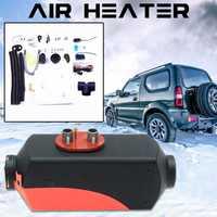 5KW 12 V calentador de aire Diesel 10L tanque LCD de Control remoto para los coches los autobuses RVs, camiones, vehículos de ingeniería