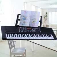 61 teclas de música para niños órgano electrónico jardín de infantes Piano instrumento Musical juguetes y regalos de educación temprana.