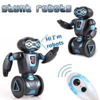 Inteligente Robótico Humanoide Control remoto Robot juguetes niños inteligente auto equilibrio Robot mascotas perro juguetes para los niños