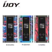100% Original 200 W IJOY capitán resina TC MOD No batería cigarrillo electrónico vape vaporizador Mod del arrastre 2/ capitán PD1865
