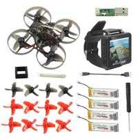 Mobula7 Mobula 7 75mm Crazybee F3 Pro OSD 2 S RC FPV Racing Drone Compatible Frsky Flysky con BOSCAM BOS200RC FPV reloj