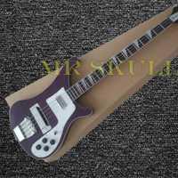 Eléctrica OEM guitarras rojo oscuro Rickenback 4003 Bass guitarra con 4 cuerdas