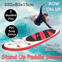 320x80x15 cm inflable Stand Up Paddle Junta ejercicio entrenamiento de tabla de surf Paddle Junta agua deporte de la Junta con bomba de mano