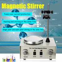 Mélangeur de double contrôle de chauffage de laboratoire US/AU/EU 79-1 110/220V 250W agitateur magnétique de plaque chaude 1000ml aucune Protection de fusibles de bruit/Vibration