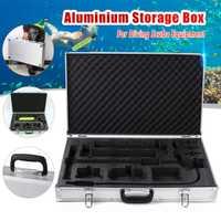 Equipo de Buceo caja de aluminio para Mini buceo cilindro de oxígeno tanques de aire de buceo bajo el agua dispositivo de respiración