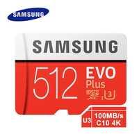 Samsung tarjeta de memoria Micro Sd de Evo, con más de 512 gb Sdhc Sdxc grado Class10 C10 Uhs-1 tarjetas Tf Flash Trans 4 k Microsd