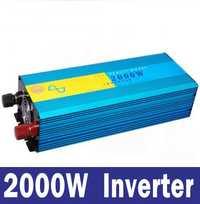 2000 W inversor Solar fuera de la red o el viento inversor de potencia 4000 W 12 V/24VDC a 110 V /220VAC inversor de onda sinusoidal pura