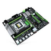 X79T DDR3 escritorios de PC placa base LGA 2011 CPU computadora 4 canal x79 Turbo de placa base SATA 3,0 USB 3,0 para intel B75