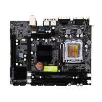 Jia Huayu G31 placa base del ordenador Dual-Core 771 placa base LGA 775 placa base 771/775 placa Dual DDR2 VGA alta compatibilidad