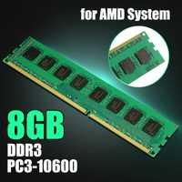 8 GB DDR3 PC3-10600, 1333 MHz, 1,5 V escritorio memoria RAM 240 pines para AMD sistema