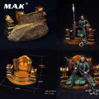 SS018 1:6 escala figura escena accesorio Odin Throne modelo escena silla Base estación modelo juguetes para 12