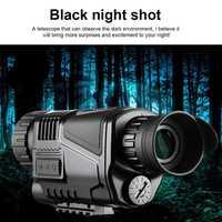 5X40mm infrarrojo visión nocturna Monocular 200 m incorporado cámara Digital telescopio para la caza de alta calidad de la noche visión