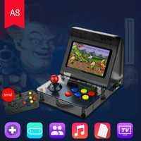 Altavoz de alta calidad Mini Retro incorporada de 3000 juegos de mano 4,3 pulgadas 2 Core 16G juego consola de ángulo de visión 480*272